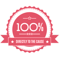 100% Donation Policy